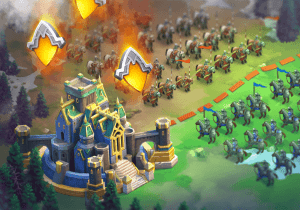 Townscapes in Throne: Kingdom at War