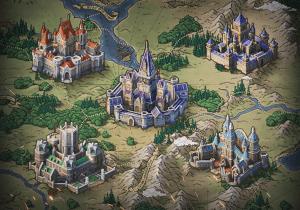 Карта в Throne: Kingdom at War