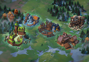 Ресурсные локации в Throne: Kingdom at War