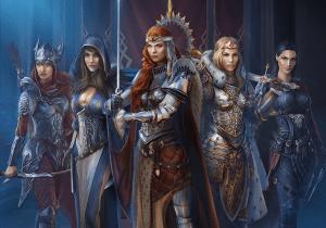 Герои в Throne: Kingdom at War