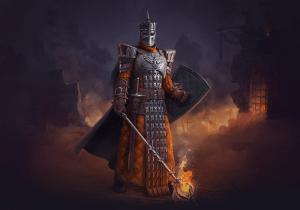 Дизайн Персонажа воина