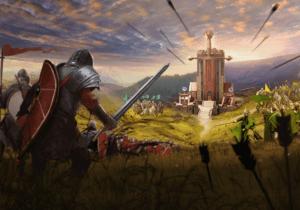 Игра Трон Замок